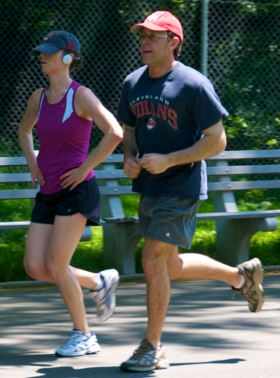 couple running Considering Total Body Health